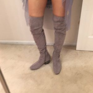 Guess over the knee boots.